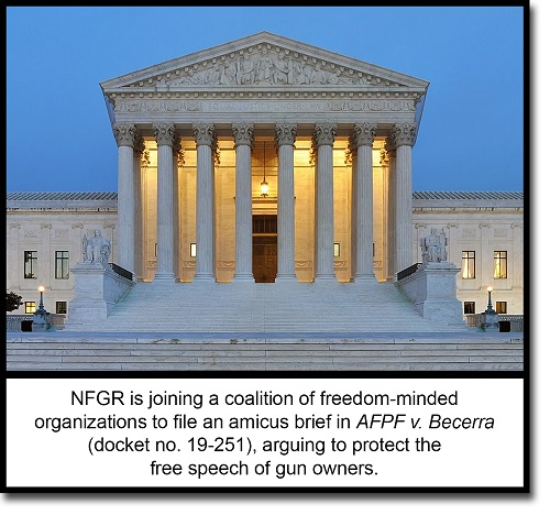 National Foundation for Gun Rights amicus brief Supreme Court AFPF v. Becerra